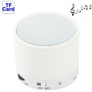 Bluetooth V2.1 Mini Stereo Speaker for Samsung Galaxy S IV / i9500 / SIII / i9300 / i8190 / S7562 / i8750 / i9220 / N7000 / i9100 / i9082 / iPhone 5 / iPhone 4 & 4S / New iPad / BlackBerry Z10 / HTC / Nokia / Other Mobile Phones Support Handsfree Functio