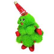 Dancing 16 Inches Christmas Tree Decoration Stuffed Plush Toy Singing Doll Christmas Gift