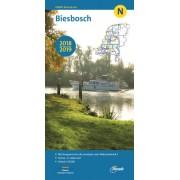 Waterkaart N Biesbosch 2018 - 2019   ANWB Media