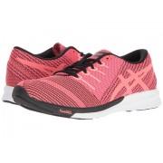 ASICS fuzeX Knit Pink GloFlash CoralBlack