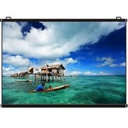 Inlight Map Type Projector Screen Size - 9X5 Ft. (169 FORMAT) IN IMPORTED HIGH GAIN FABRIC A+++++ GRADE