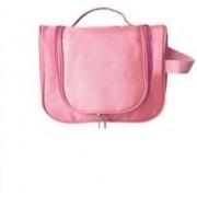 Everyday Desire Cosmetic Make Up Hanging Bag Organizer - Light Pink Travel Toiletry Kit(Pink)
