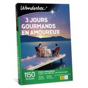 Wonderbox Coffret cadeau 3 jours gourmands en amoureux - Wonderbox