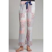 Womens Mia Lucce PJ Pant - Patchwork Print Sleepwear Nightwear