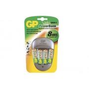 GP 4891199079559 - GP PowerBank Quick 3 inkl 4 st 2600mAh AA NiMH-batterier