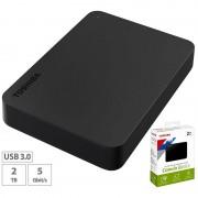 "Toshiba Canvio Basics Externe Festplatte 2,5"", 2 TB, USB 3.0"