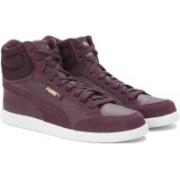 Puma Ikaz Mid Dazz Sneakers For Women(Purple)