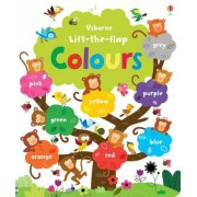 Lift the Flap Colours Book, Hardcover