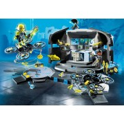Playmobil Dr. Drones Command Center - Playmobil Top Agents 9250