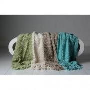 Click Props Newborn Tassel Blanket Teal TBT 127x178cm foto pribor za fotografiju beba 599258