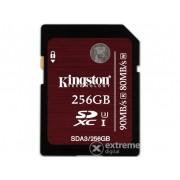 Card memorie Kingston SDXC 256GB UHS-I Class 3