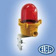 Akadályvilágító lámpa LBEx 02 100W II2G Exde IIC T2 oszlopra szerelhető IP54 Elba