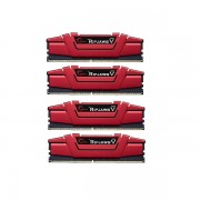G.SKILL DDR4-3000 32GB Quad Channel Ripjaws V Blazing Red [F4-3000C15Q-32GVRB]