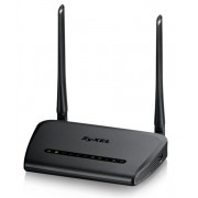 Рутер ZyXEL NBG6515, Simultaneous Dual-band Wireless AC750 Home Router, 802.11ac (300Mbps/2.4GHz+433Mbps/5GHz), back compatibility with 802.11b/g/n/a, 4x Giga LAN, 1x Giga WAN, Multiple Mode (Router/AP/Repeater), WPA2, QoS, WPS button, 2x 5dBi antennas