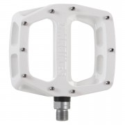 DMR V12 Flat Pedal - 9/16 - White