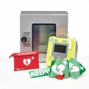 ZOLL AED 3 + buitenkast-Grijs met pin-Halfautomaat