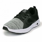Ethics Premium Air Pro Series Black Grey Casual Sports Gym Shoes for Mens (9)