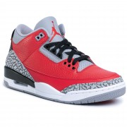 Pantofi NIKE - Air Jordan 3 Retro Se CK5692 600 Fire Red/Fire Red/Cement Grey