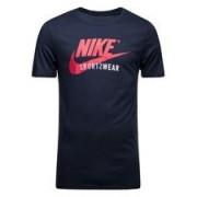 Nike T-shirt NSW Futura - Navy/Zwart