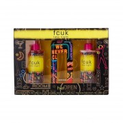 Fcuk late night for her 100 ML Set 3pcs