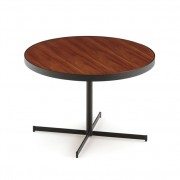 Salontafel met houten tafelblad RAFA
