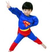 Fancydresswale Superman muscle Costume For Kids