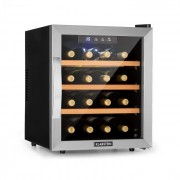 Klarstein Reserva 16, borhűtő, 16 üveg/48 l, LED-érintőképernyő, fekete (HE8-Reserva16S)