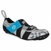 Bont Riot TR+ Road Shoes - EU 45 - White/Black