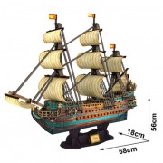 3D slagalica Brod San Felipe 3D-0025