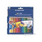 """Creioane colorate Staedtler """"Noris Club"""" 24 culori"""