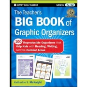 The Teacher's Big Book of Graphic Organizers, Grades 5-12: 100 Reproducible Organizers That Help Kids with Reading, Writing, and the Content Areas, Paperback
