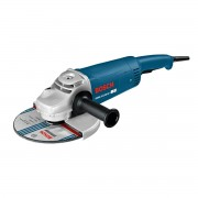Polizor unghiular Bosch Professional GWS 26-230 JH, 2600 W, 6500 rpm, Diametru disc 230 mm, Albastru, 0601856M00