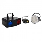 Ibiza Night Set iluminación LED efecto Moonflower Strobo (BD-Night+Light)