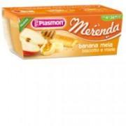 Plasmon (heinz italia spa) Merenda Banana Mela Biscotto Miele 120g X 2 Pezzi Plasmon