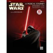 Alfred Music Star Wars 1-6 - Flute Instrumental Solos, Book/CD