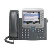 Cisco Unified 7975G IP Phone - Wall Mountable - Dark Grey