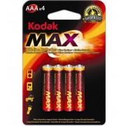 Set 40 Baterii Alcaline Kodak MAX, tip AAA / LR03