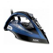 Fier de calcat Tefal FV9834E0 Ultimate Pure, 3000 W , 0-55g/min, jet de abur 240g/min, functie anticalcar, Albastru/Negru