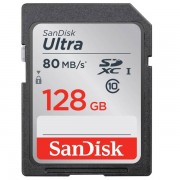 Unbranded Sandisk ultra sdxc class 10 uhs-i 80mb/s 128gb