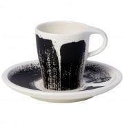 Villeroy & Boch Coffee Passion Awake Tasse à expresso avec soucoupe séparée