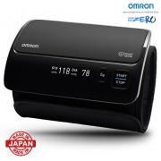 Tensiometru Omron EVOLV digital de brat manseta inteligenta 22 42 cm transfer date Bluetooth fara cabluri validat clinic ecran OLED fabricat in Japonia
