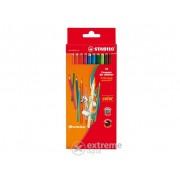 """Creion colorat Stabilo """"Color"""", 12 culori diferite"""