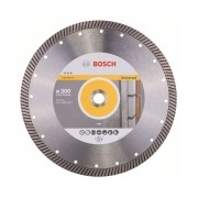Bosch - Best for Universal Turbo - Disc diamantat de taiere continuu, 300x25.4/20x3 mm, taiere uscata, calitate inalta