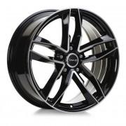 Avus Af16 8,5x21 5x108 Et45 63.4 Black - Llanta De Aluminio