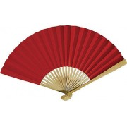 Red Paper Hand Fan