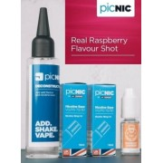 Lichid Tigara Electronica Premium Jac Vapour Real Raspberry 70ml, Nicotina 5,1mg/ml, 80%VG 20%PG, Fabricat in UK, Pachet DiY