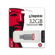 Fleš pen 32GB metalni Data Traveler 50 Kingston