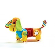 Lovely Kids Tiny Love Follow Me Fred The Dog Dauschund Walking Activity Baby Toy New Nib By Greenland