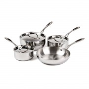 Vogue Tri Wall Pan Set of 4 Pans
