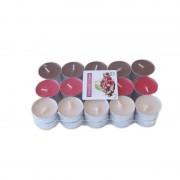 Lumanari tip pastila parfumate chocolate & cherry 30/set 4h